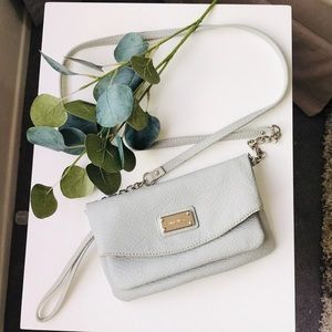 Nine West Light Grey Crossbody